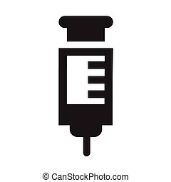 Syringe Vector Icon