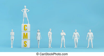 système, contenu, cms, gestion