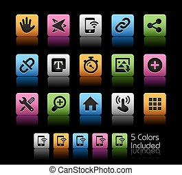 système, icônes, interface