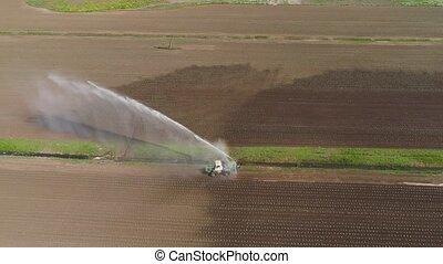 système, irrigation, agricole, land.