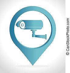 système sécurité, surveillance