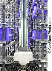système stockage, automatisé