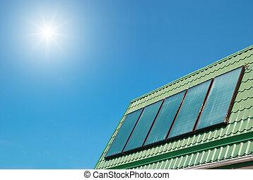 systém, sluneční
