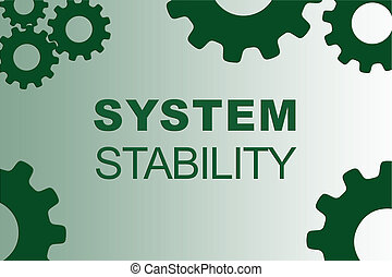 SYSTEM STABILITY concept