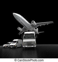 szállítás, hatásos, gyors