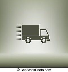 szállítás, ikon