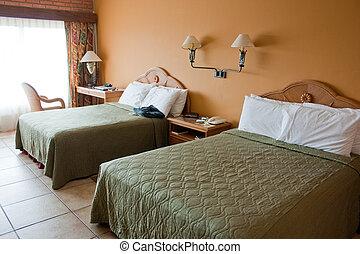 szálloda szoba, pazar