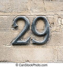 szám, 29