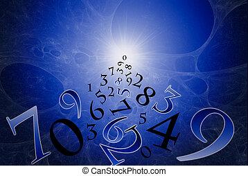 számmisztika, ősi, (the, science).