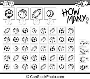számolás, karikatúra, ábra, feladat