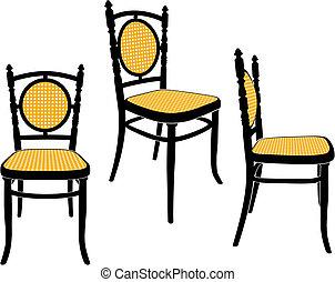 szék, bécs