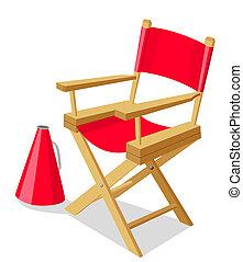 szék, director's