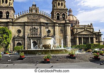 székesegyház, jalisco, guadalajara, mexikó