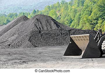 szén, árukészlet