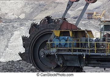 szén akna