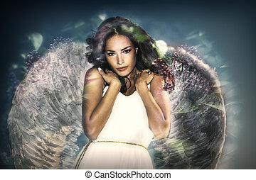 szépség, angyal