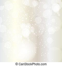 szépség, elvont, ábra, háttér., vektor, év, új, karácsony