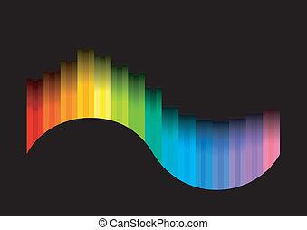 szín, ív