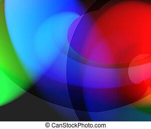 szín, elegyít