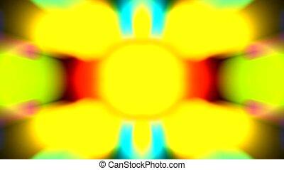 szín, elképzel, motívum, fény, fénysugár
