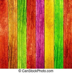 szín, erdő, háttér