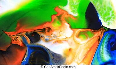 szín, felrobbanás