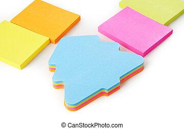 szín, jegyzet