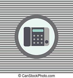 szín, lakás, telefon, ikon