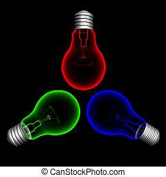 szín, lightbulbs1
