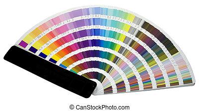 szín, mérleg