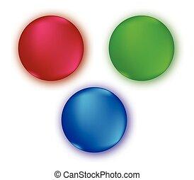 szín, rgb, állhatatos