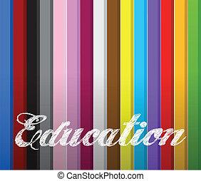 szín, rudacska, oktatás, szó, top.