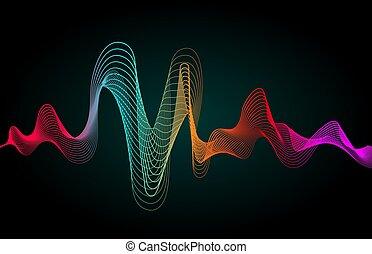 szín, zene, lenget