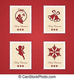 színes, állhatatos, karácsony, topog, postaköltség