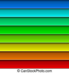 színes, elvont, háttér., fényes, vektor, deszkák