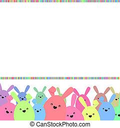 színes, eps, space., 8, másol, húsvét, kártya