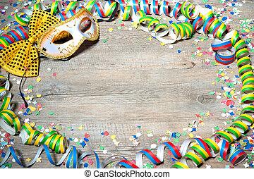 színes, farsang, háttér