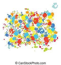 színes, festett, vektor, háttér, savanyúcukorka