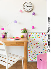 színes, gyerekek, szoba