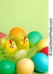 színes, húsvét, halk élet