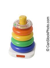 színes, játékszer