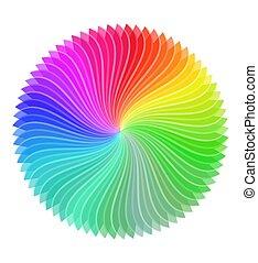 színes, tervezés elem