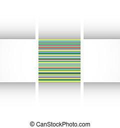 színes, vektor, grunge, retro, háttér