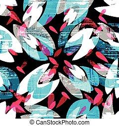színezett, motívum, ábra, vektor, falfirkálás, psychedelic