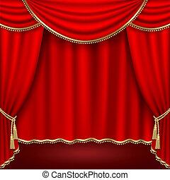 színház, fokozat