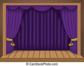 színház, színhely