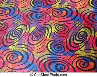 színpompás, szőnyeg