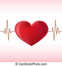 szív, érverés