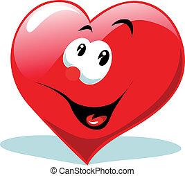 szív, boldog