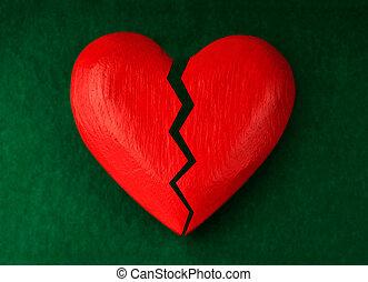 szív, csattanás